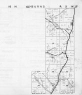 Burns Township - North, Sand Creek, La Crosse County 1954